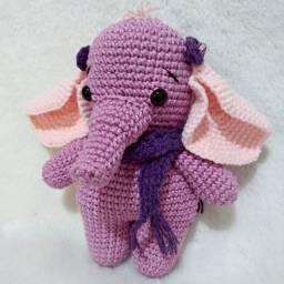 Elefantinho amigurumi - sob encomenda