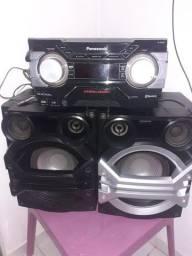 Som Panasonic SA-AKX600 1300WTS RMS