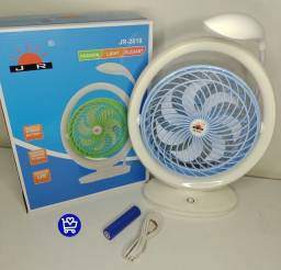 Título do anúncio: Promoção ventilador recarregável com lampada