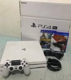 PS4 PRO BRANCO GLACIAL 1TB