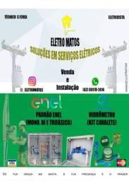 Título do anúncio: Venda e Instalação Padrão da Enel e Hidrômetro