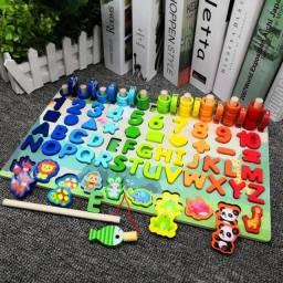 Brinquedos educativos pré-escolar montessori