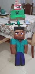 Decoração aniversário Minecraft