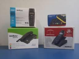 Título do anúncio: Vendo Conjunto de Telefones e Celular Asha 230 Por R$500,00. Seminovos.