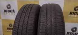 2 pneus 185/65/15 CONTINENTAL COM 90% DE BORRACHA