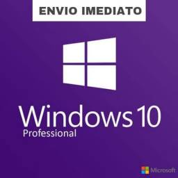 ENVIO IMEDIATO - Windows 10 Professional 2021 - (32-64bits)