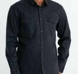Camisa preta nova da Renner 70,00 Retirar em Piedade