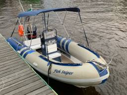 Título do anúncio: Barco inflável Zefir 6 metros