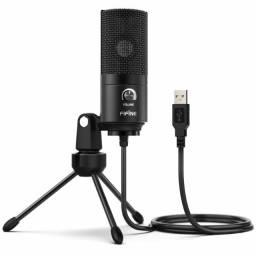 Microfone Fifine K669 Condensador Cardióide Preto