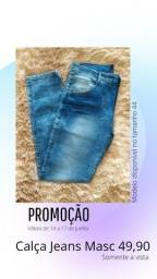 Calça Jeans Masc 44 - 49,90