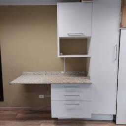 Kit Cozinha Mobitec de alta qualidade com granito (para levar hoje!)
