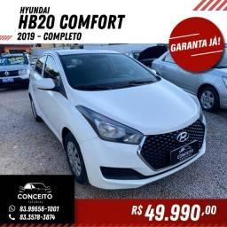 Hyundai HB20 2019 Comfort Completo. Carro Extra.