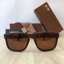 Título do anúncio: Óculos de sol Oakley Holbrook matte brown lentes polarizadas