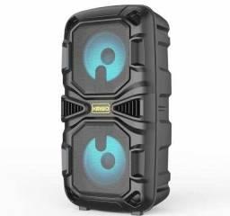 Título do anúncio: Caixa de Som KMS 6686 C/ 1200 W de potência! Bluetooth e Microfone inclusos