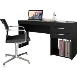 Promoção ! Mesa Escritório Office 2 Gavetas 3 cores(Entrega Gratis)