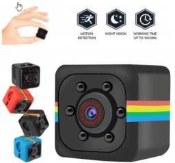Mini Câmera Escondida SQ11 720P / Câmera Espiã