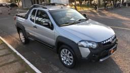 Fiat/ Strada Adventure Dualogic 2016 Impecável
