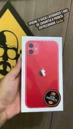iPhone 11 64gb Lacrado 1 Ano Garantia