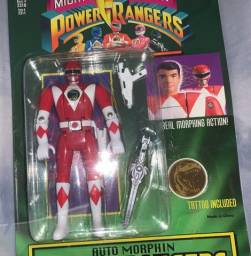 Boneco power rangers bandai colecionador
