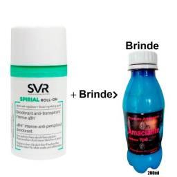 Spirial Roll-On + Brinde. Desodorante e Antitranspirante 48h Sem Perfume
