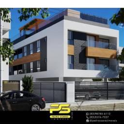 Título do anúncio: Apartamento com 2 dormitórios à venda, 55 m² por R$ 199.000,00 - Altiplano Cabo Branco - J