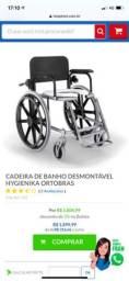 Título do anúncio: Cadeira de Banho Desmontável Hygienika Ortobras