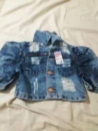 Título do anúncio: Blusinha jeans menina infantil