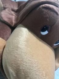 Cachorro de Pelúcia Cadu Marrom