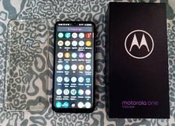 Motorola ONe fusion 64GB pra vender logo