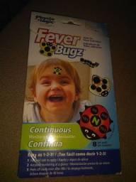 Adesivo medidor de febre