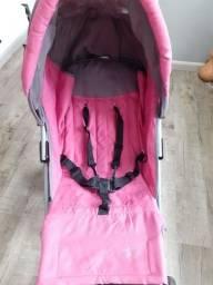 Título do anúncio: Carrinho de bebê Rosa Burigotto