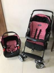 Carrinho de bebê e Bebê conforto ( Conjunto Burigotto)