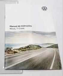 Título do anúncio: Manual de revisão e garantia volkswagen Nivus e T-Cross