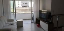 02 quartos + gabinete, mobiliado, armários - Pituba!