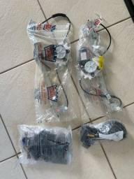 Kit vidro elétrico para Clio 4p 2009 2010 2011 Diant Trava
