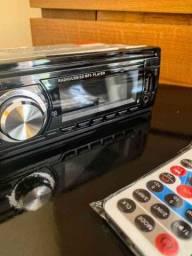 Título do anúncio: Rádio Automotivo MP3 Bluetooth, FM, USB, Cartão Sd
