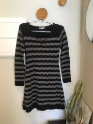 Vestido tricot mangas longas - Siberian - Tam M - usado