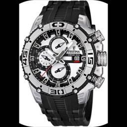 Título do anúncio: Vendo ou Troco Festina Chronograph Bike Tour de France 2012 F16600 / 1