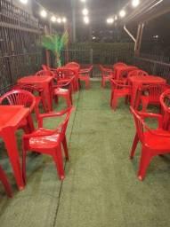 Título do anúncio: Mesa plástico para bar e restaurante