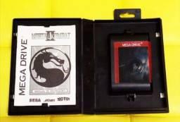 Mortal Kombat 2 Mkii Mega Drive Sega Genesis Tectoy Original
