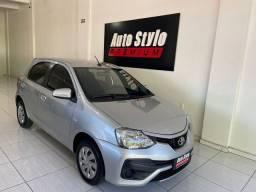 Título do anúncio: Toyota ETIOS XS 1.5 Flex 16V 5p Aut. 2018 Flex