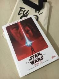 Livro Star Wars Os últimos jedi