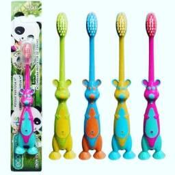 Escova Dental Infantil Macia Pct C/ 4 Escovas Canguru