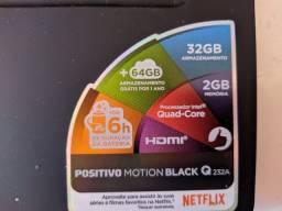 Notebook Positivo Motion Black Q 232A