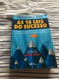 Título do anúncio: Livro as 16 leis do sucesso
