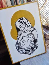 Título do anúncio: Pintura de Nossa Senhora