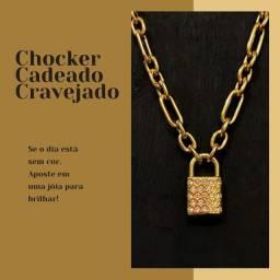 Título do anúncio: Chocker Cadeado