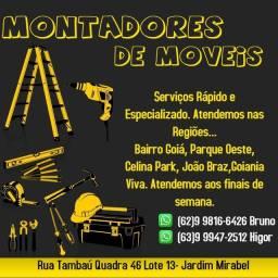 Título do anúncio: Montadores de móveis