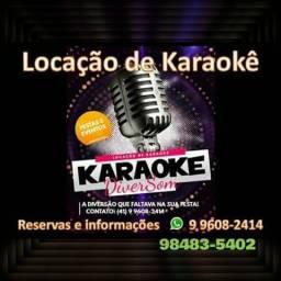 Locação de karaoke para festas e eventos alta resolução em hd