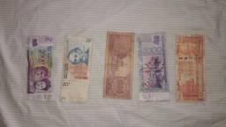 Peso, guarani e dólar (ARGENTINA, PARAGUAI e EUA)